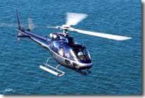 Hélicoptère pour l'ïle d'Yeu
